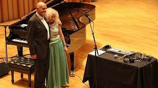 Alessandra Celletti & Hans Joachim Roedelius live in San Francisco
