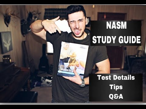 EASIEST NASM (Most Up to Date on Youtube) Study Guide /// Keith Gore