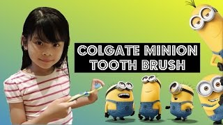 Colgate Minions Toothbrush and Toothpaste | Keisha TV ♥️