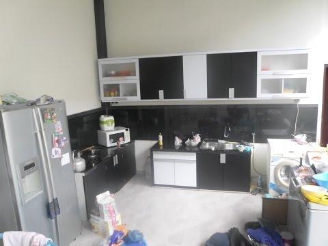 Kitchen Set Bentuk U L Lurus Ukuran 3 Meter Youtube