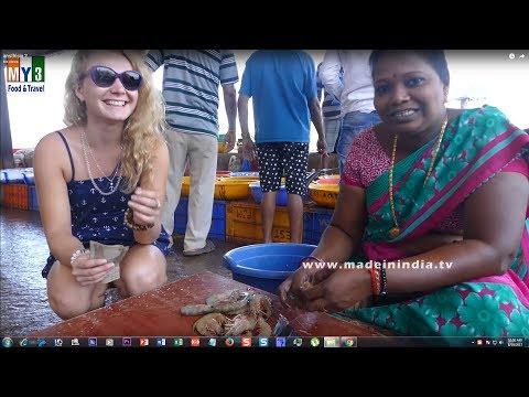 CRISPY PRAWNS RAVA FRY MAKING IN INDIAN STYLE   Shrimp Recipes street food