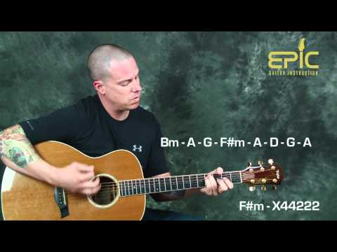 Country acoustic guitar lesson learn Garth Brooks Callin Baton Rouge with strums chords fiddle parts