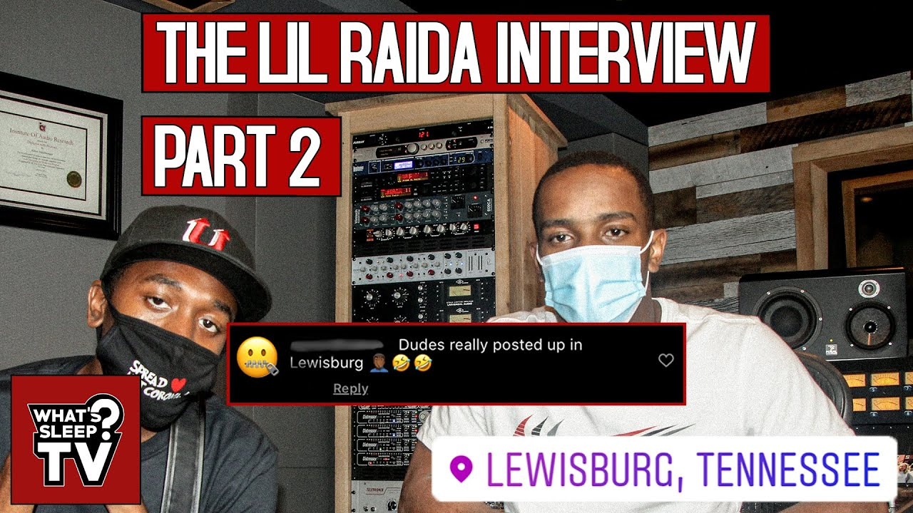 "Lil Raida Responds To A Comment Clowning Him For Living In Lewisburg ""It's Treacherous"""