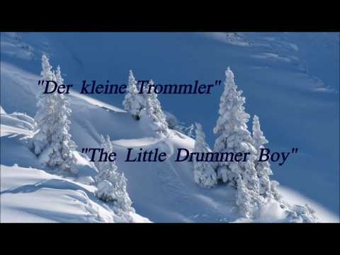 Der kleine Trommler - The Little Drummer Boy - deutscher Text - Instrumental