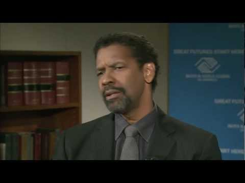 Denzel Washington on High School Dropouts, At-Risk Youth