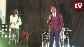 Mc Lukinga Comedy  - Mungu wa Baba Yake Yesu Hasijidhihirishe Kwangu [Laugh Again Concert Nit]