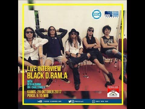 Black Drama - ICU Pro2 FM RRI Jakarta (Live Video Corner RRI)