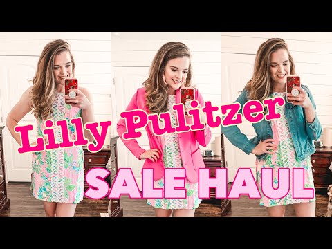 Spring/Summer 2020 Lilly Pulitzer Haul