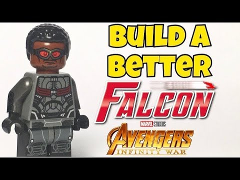 HOW TO Build a Better FALCON from Avengers: Infinity War