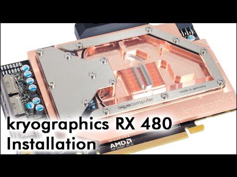 kryographics RX 480 Installation