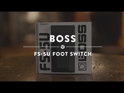 Boss FS-5U Foot Switch | Reverb Demo Video