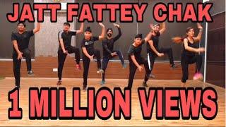 Jatt Fattey Chakl || Dhol Mix || Amrit Maan || Fitpro fitness studio || Firstlovebhangra (2019)