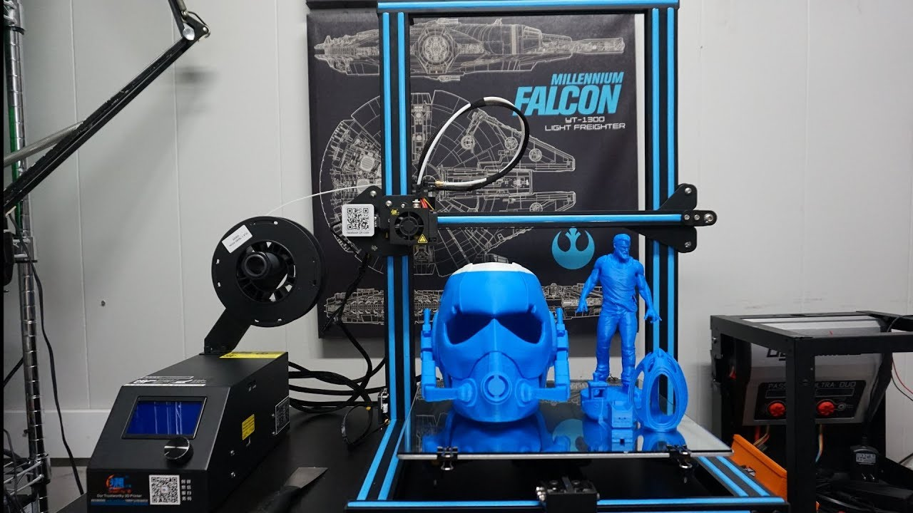"""Creality CR-10 3D printer honest review """"what you need to know"""" - YouTube"""