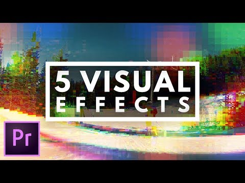 5 FAST & EASY Visual Effects in Premiere Pro