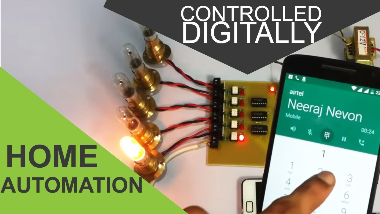 Digitally Controlled Home Automation Project YouTube