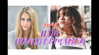 I CUT MY HAIR OFF // Major Hair Transformation & BANGS!