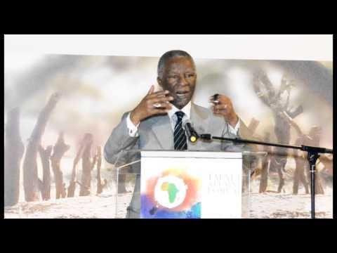 former President Thabo Mbeki's talks about Corruption, ICC & Economic Partnership Agreements