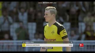 MARIUS WOLF GOAL BORUSSIA DORTMUND VS NÜRNBERG BUNDESLIGA FIFA 19 ...