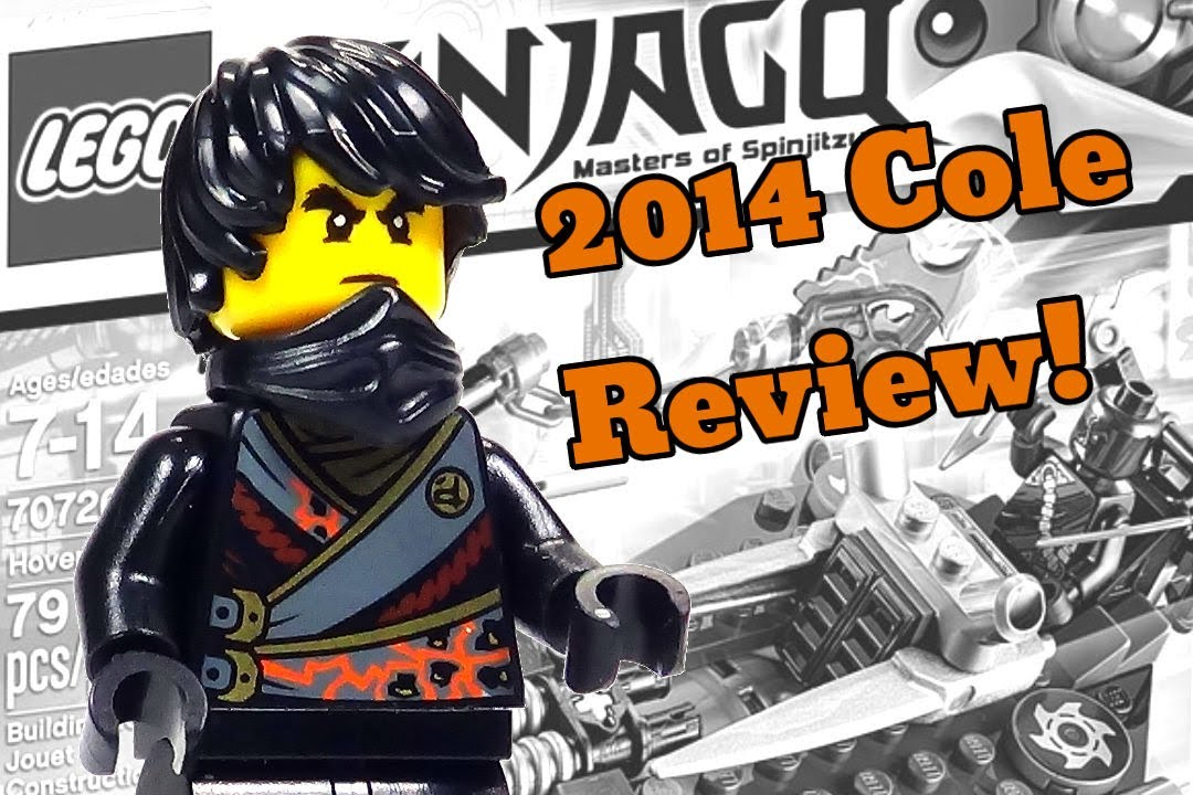 2014 lego ninjago minifigure cole review from 70720 hover hunter youtube