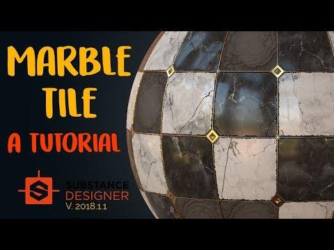 Marble Tile | Beginner Substance Designer Tutorial