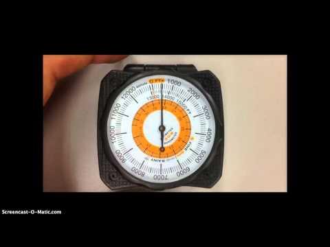 Sun Altimeter/Barometer Tutorial