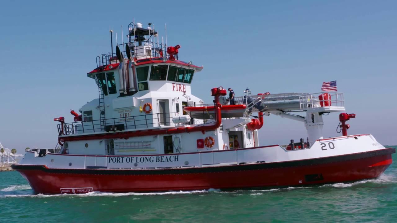 Long Beach Fireboat