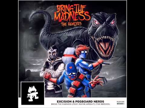 [Breaks] Excision & Pegboard Nerds - Bring The Madness (Noisestorm Remix) [1 hr edition]