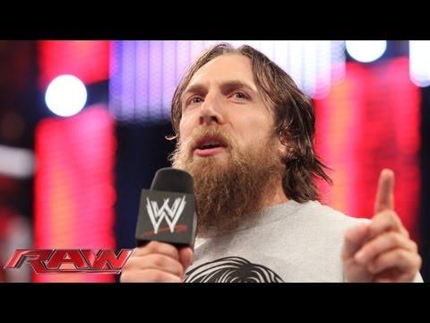 Daniel Bryan vows to defeat Randy Orton at WWE Battleground: Raw, Sept. 23, 2013