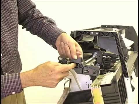 HP Designjet 1050C Belt Replacemnt & Calibration Video