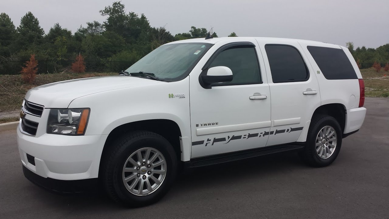 Sold 2009 Chevrolet Tahoe Hybrid 6 0l 98k 1 Owner For At Wilson County Motors Lebanon Tn You