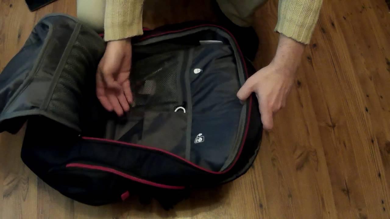 2ae9f0849c Lenovo Y Gaming Active Backpack - laptop notebook hátizsák - YouTube