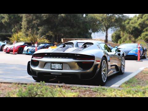 MONTEREY CAR WEEK 2016 | Bugattis, Paganis, Koenigseggs, and MORE!