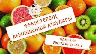 Жемістердің ағылшынша атаулары   Names of fruits in kazakh   Название фруктов на английском