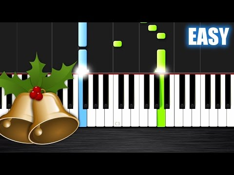Jingle Bells - EASY Piano Tutorial by PlutaX - Synthesia