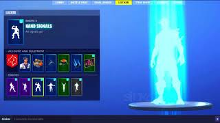 "New Fortnite Dance ""HAND SIGNALS"" With Every Single New Leaked Skin Coming Soon To Fortnite!"