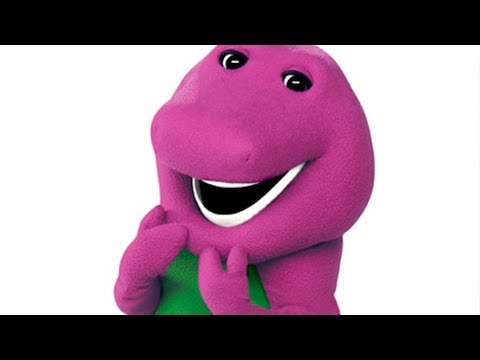 This Was The Man Behind The Barney Costume