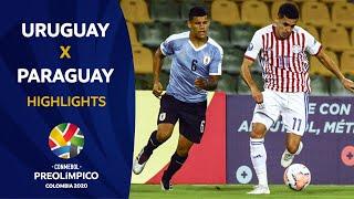 Uruguay 1-0 Paraguay   Preolímpico 2020