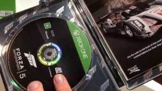 Forza Motorsport 5 Limited Edition, Unboxing
