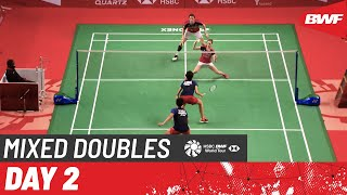 HSBC BWF  World Tour Finals | Day 2: Lamsfuss/Herttrich (GER) [2] vs. Faizal/Widjaja (INA)