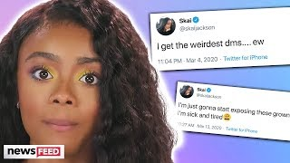 "Gambar cover Skai Jackson EXPOSES ""Creepy Grown Men's"" Inappropriate DMs!"