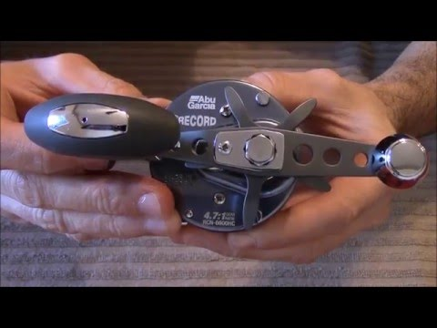 Abu Garcia Ambassadeur 6600 HC Record reel new model review