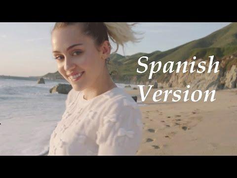 Miley Cyrus - Malibu En Español (Letra/Lyrics)