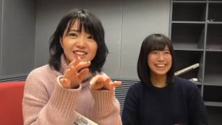 2016年12月28日(水)2じゃないよ!矢方美紀vs荒井優希