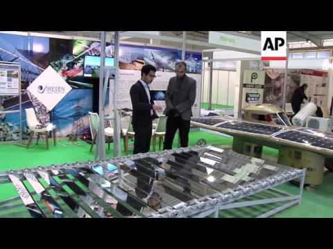 Companies showcase solar energy inventions