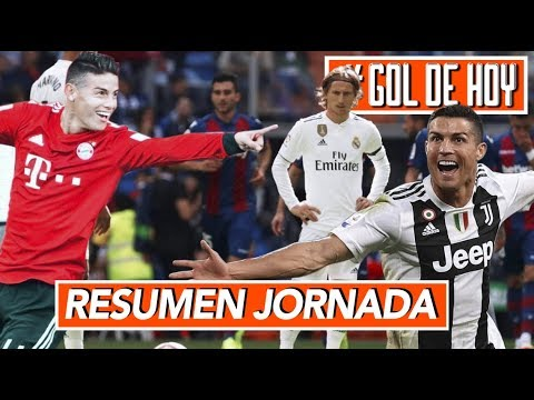 Debacle total, pierde el Real Madrid I Goles de CRlSTlANO y JѦMES #goldehoy