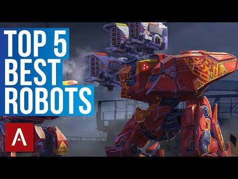 War Robots: Top 5 Best Robots Gameplay 2018 | live stream (FULL)