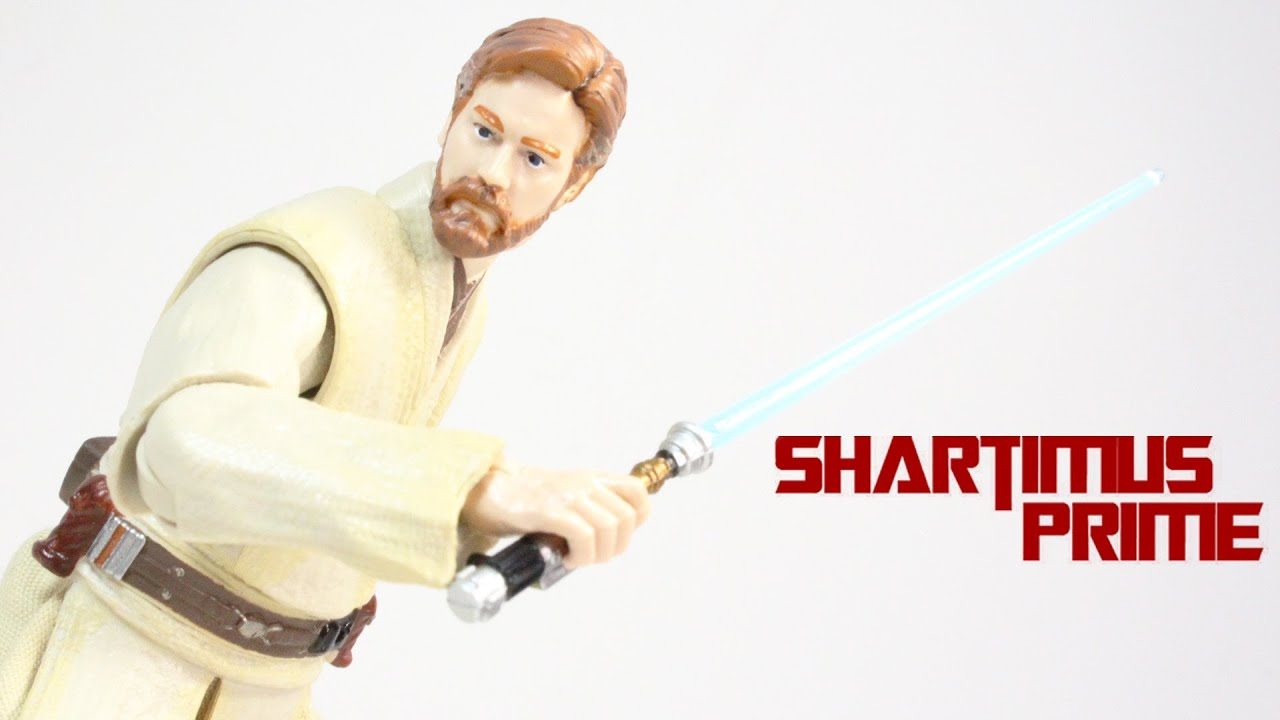 Star Wars Obi Wan Kenobi 6 Inch Black Series Wave 3 Figure Review Youtube