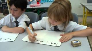 Repeat youtube video Short example of a Guided Write within the Classroom