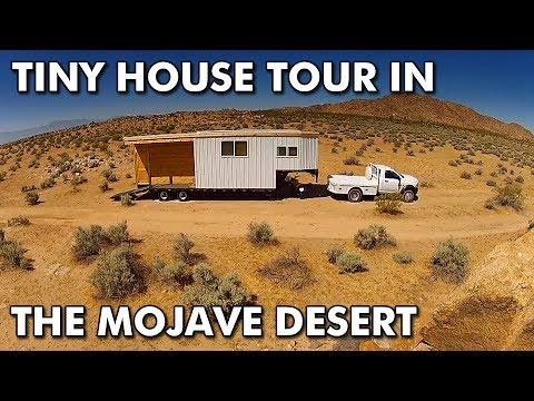 Tiny House Tour in the Mojave Desert