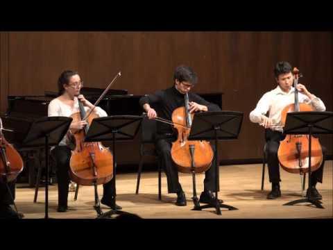 Derek Louie - Senior Recital. Dvorak Silent Woods For Five Celli